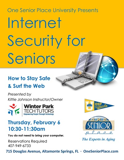 Internet Security for Seniors