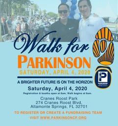 7th Annual WALK For Parkinson!