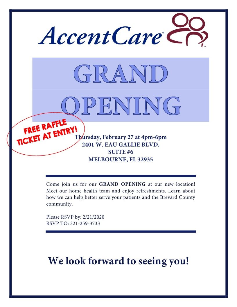AccentCare Grand Opening!