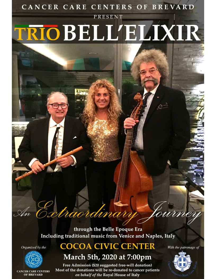 Trio Bell'Elixir presented by Cancer Care Centers of Brevard