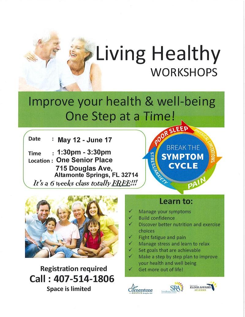 Living Healthy Workshop - 6 Weeks Course