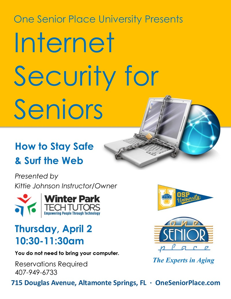 CANCELED: Internet Security for Seniors