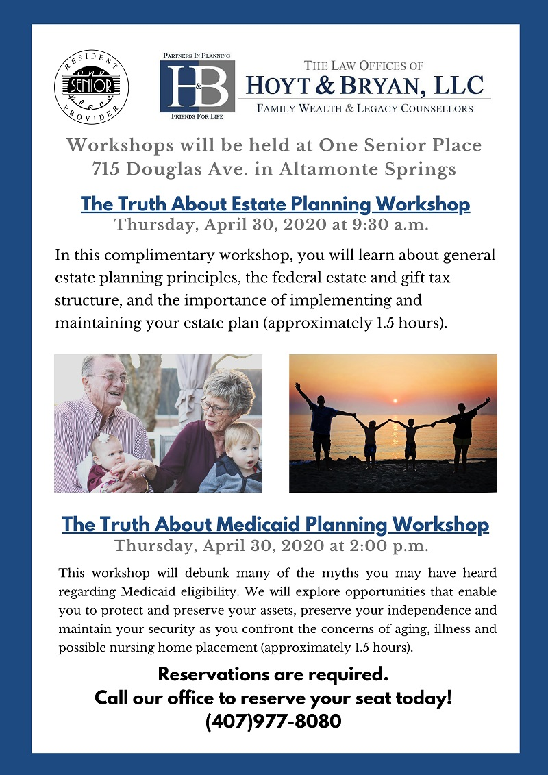 The Truth About Estate Planning Workshop