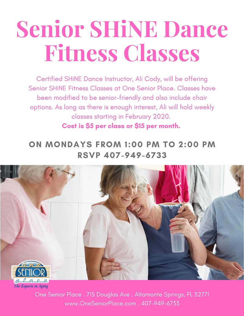 CANCELED - Senior SHiNE Fitness Class