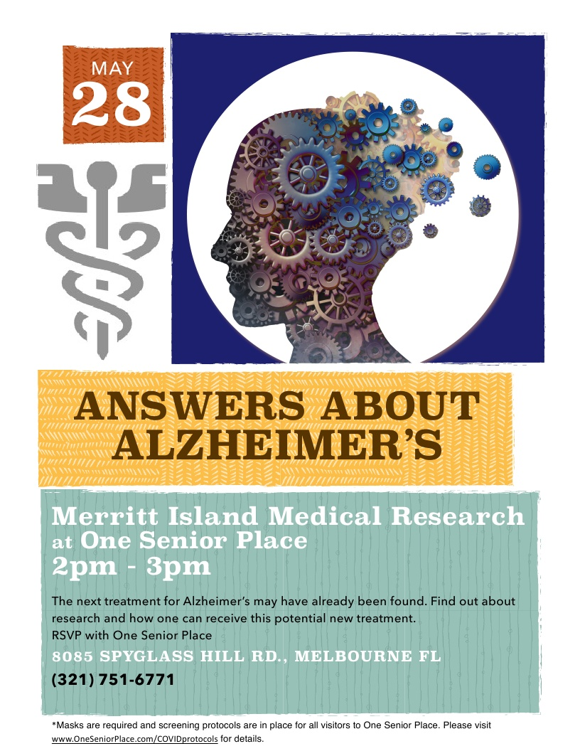 Answers About Alzheimer's presented by Merritt Island Medical Research