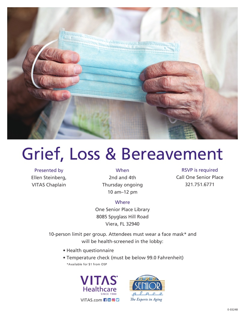 Grief, Loss & Bereavement Support Group - VITAS Healthcare