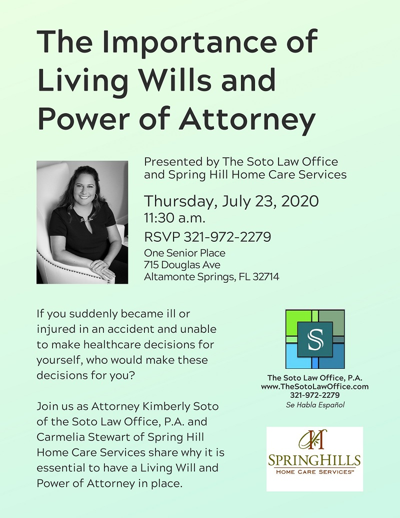 The Importance of Living Wills and Power of Attorney