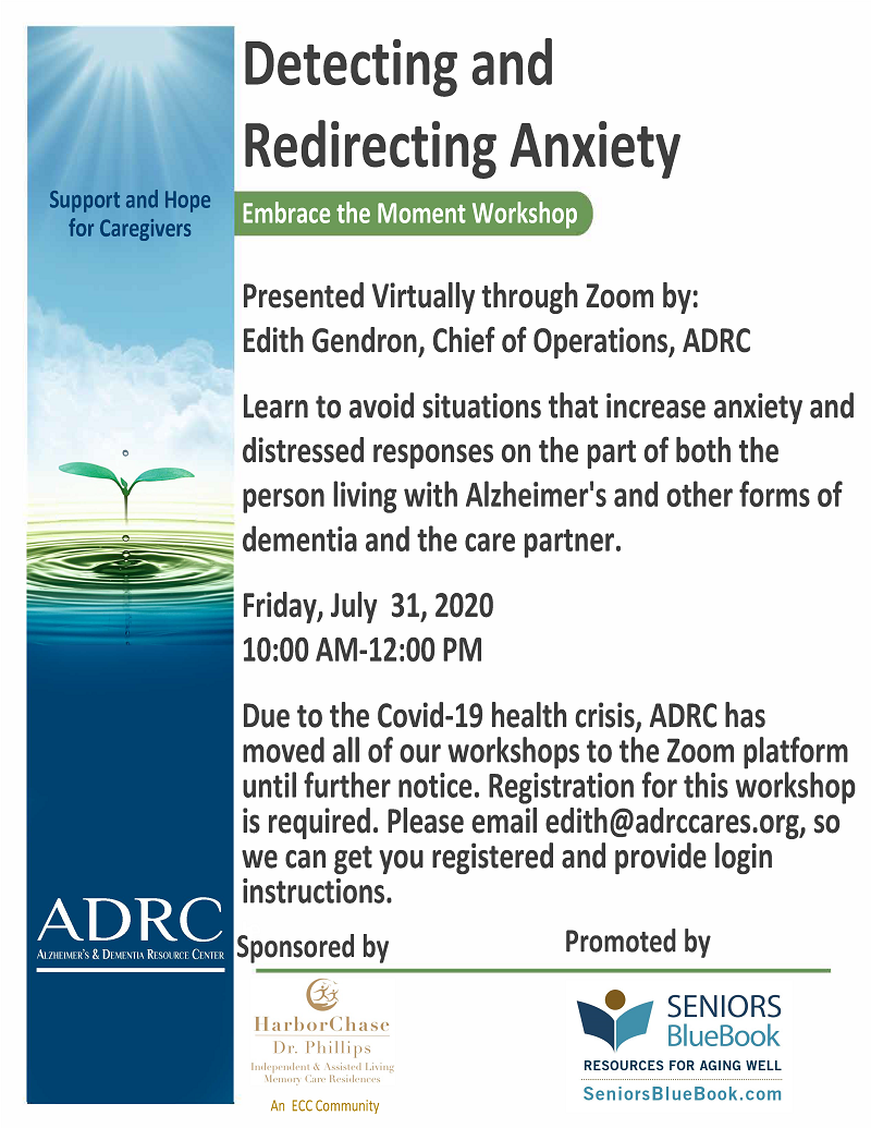 VIRTUAL: Detecting and Redirecting Anxiety