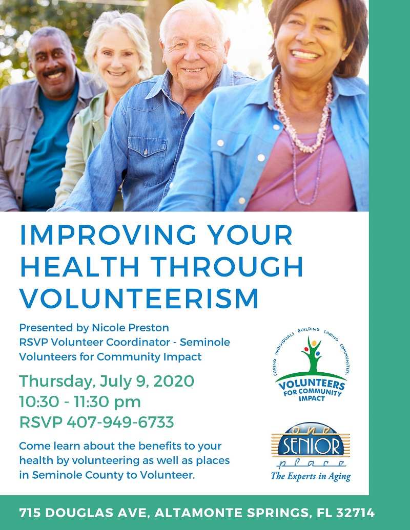Improving Your Health Through Volunteerism
