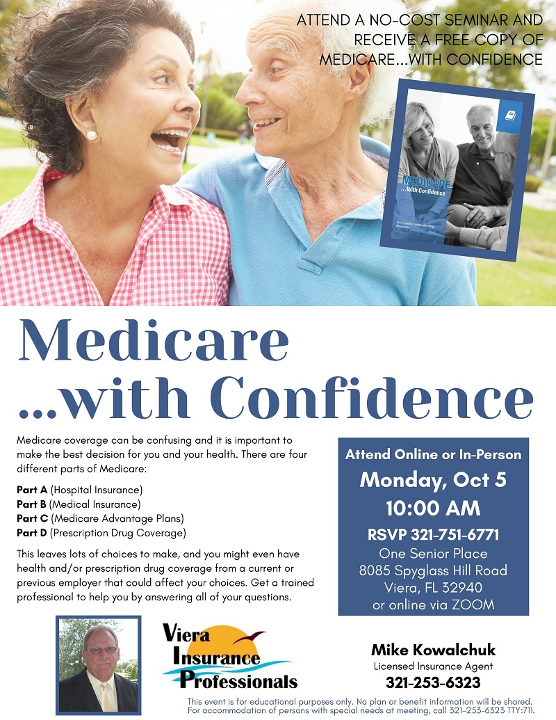 Medicare...with Confidence presented by Viera Insurance Professionals