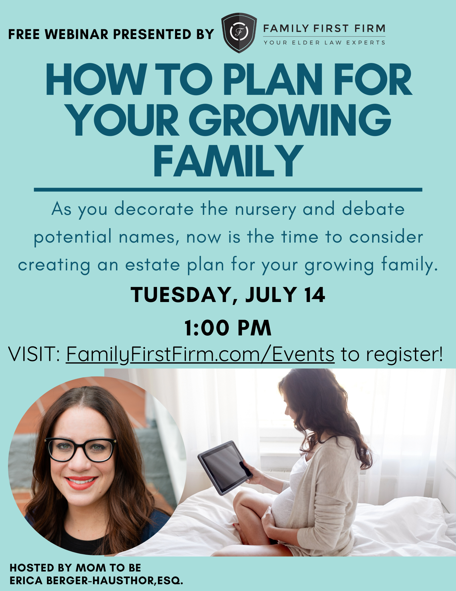 VIRTUAL: How to Plan for Your Growing Family