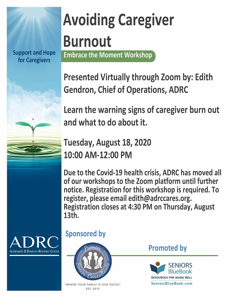 VIRTUAL: Avoiding Caregiver Burnout