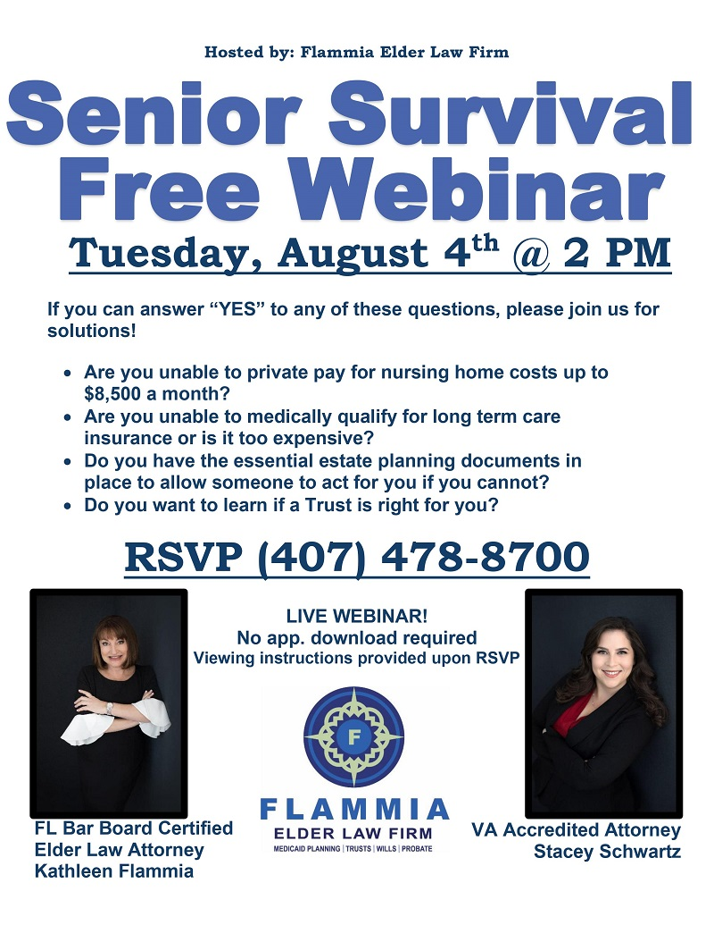 VIRTUAL: Senior Survival Webinar