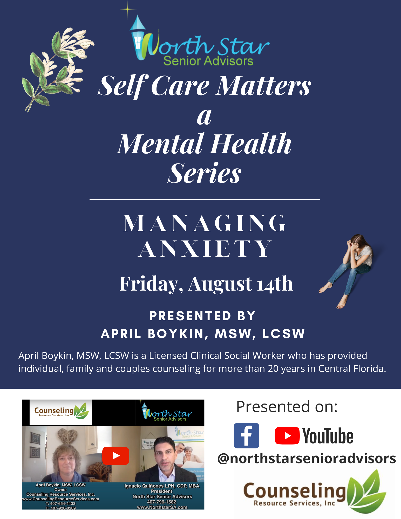 Self Care Matters: a Mental Health Series