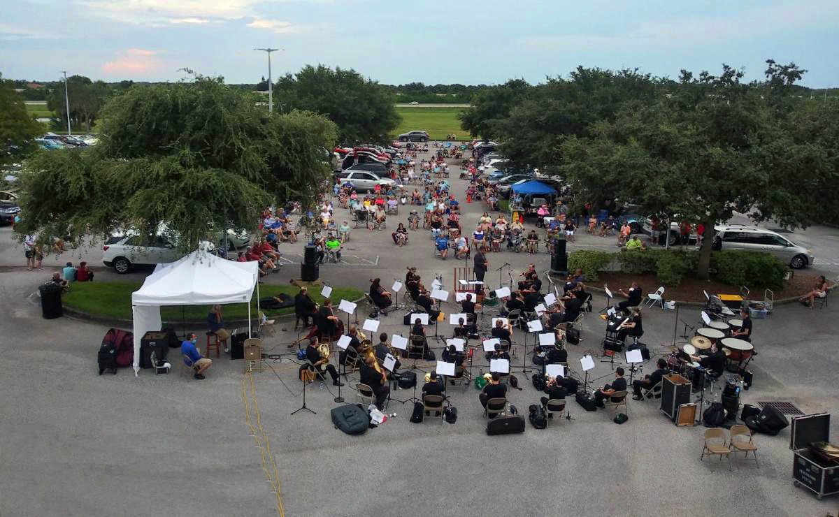 Drive-in Summer Concerts Celebrate 'Sweet Land of Liberty' - Space Coast Symphony Wind Orchestra