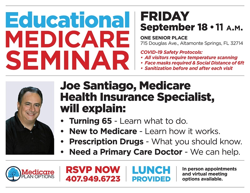 Medicare 2020 & Beyond Lunch & Learn: VIRTUAL and In-Person
