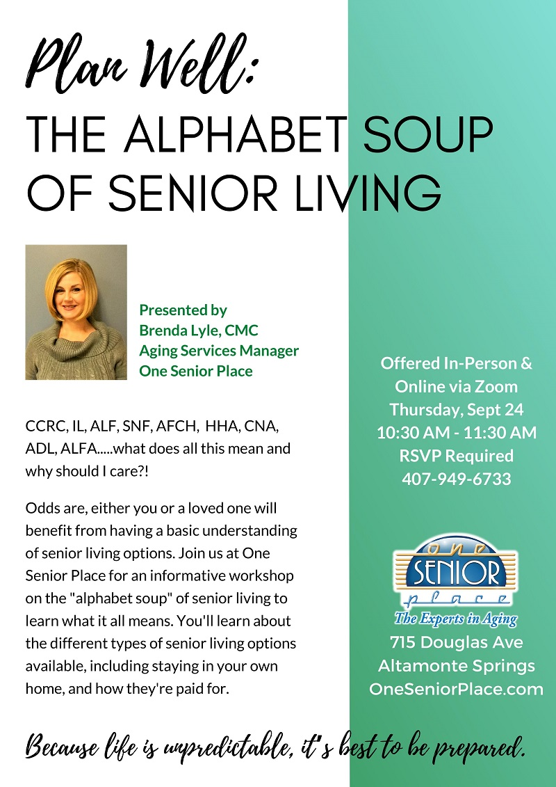 VIRTUAL & In-Person: The Alphabet Soup of Senior Living