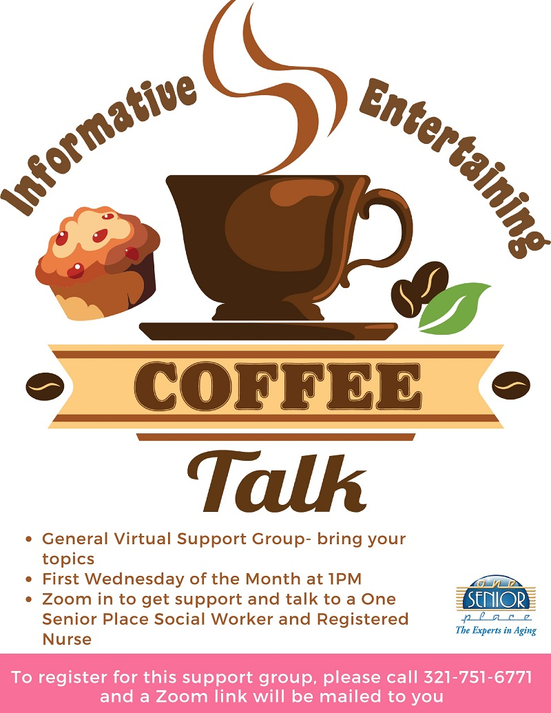 COFFEE TALK - Virtual General Support Group