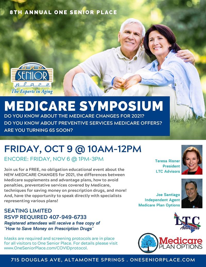 SPECIAL EVENT: 8th Annual Medicare Symposium