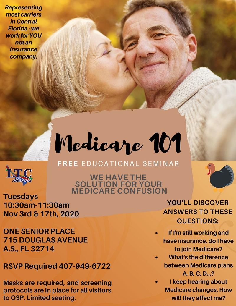 IN PERSON-Medicare 101