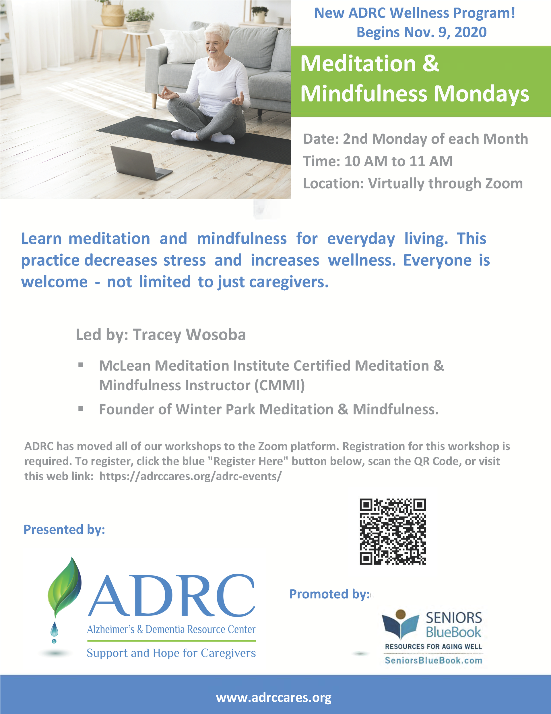 VIRTUAL: Meditation & Mindfulness Mondays