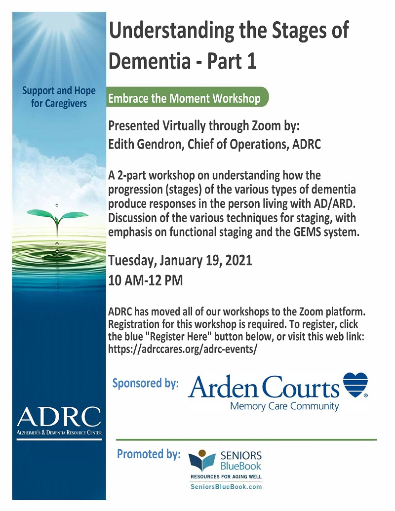 VIRTUAL: Understanding the Stages of Dementia - Part 1