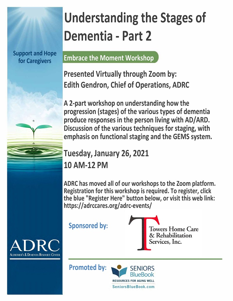VIRTUAL: Understanding the Stages of Dementia-Part 2