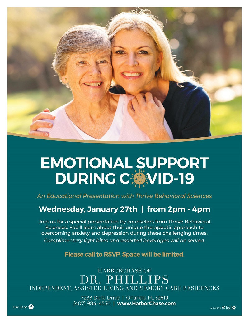 Emotional Support During COVID-19