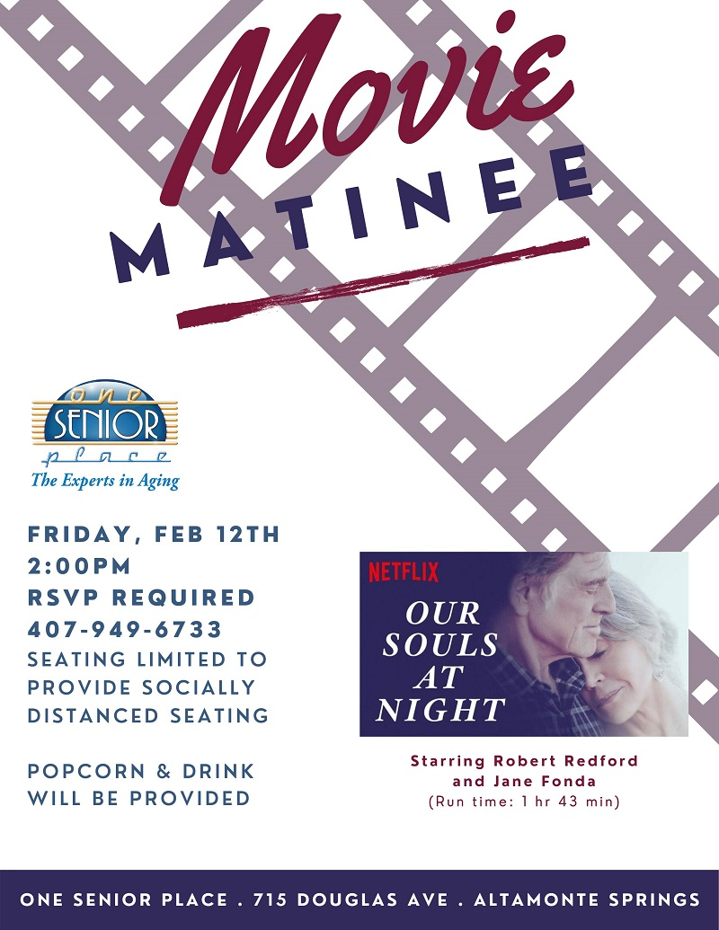 IN-PERSON: Movie Matinee
