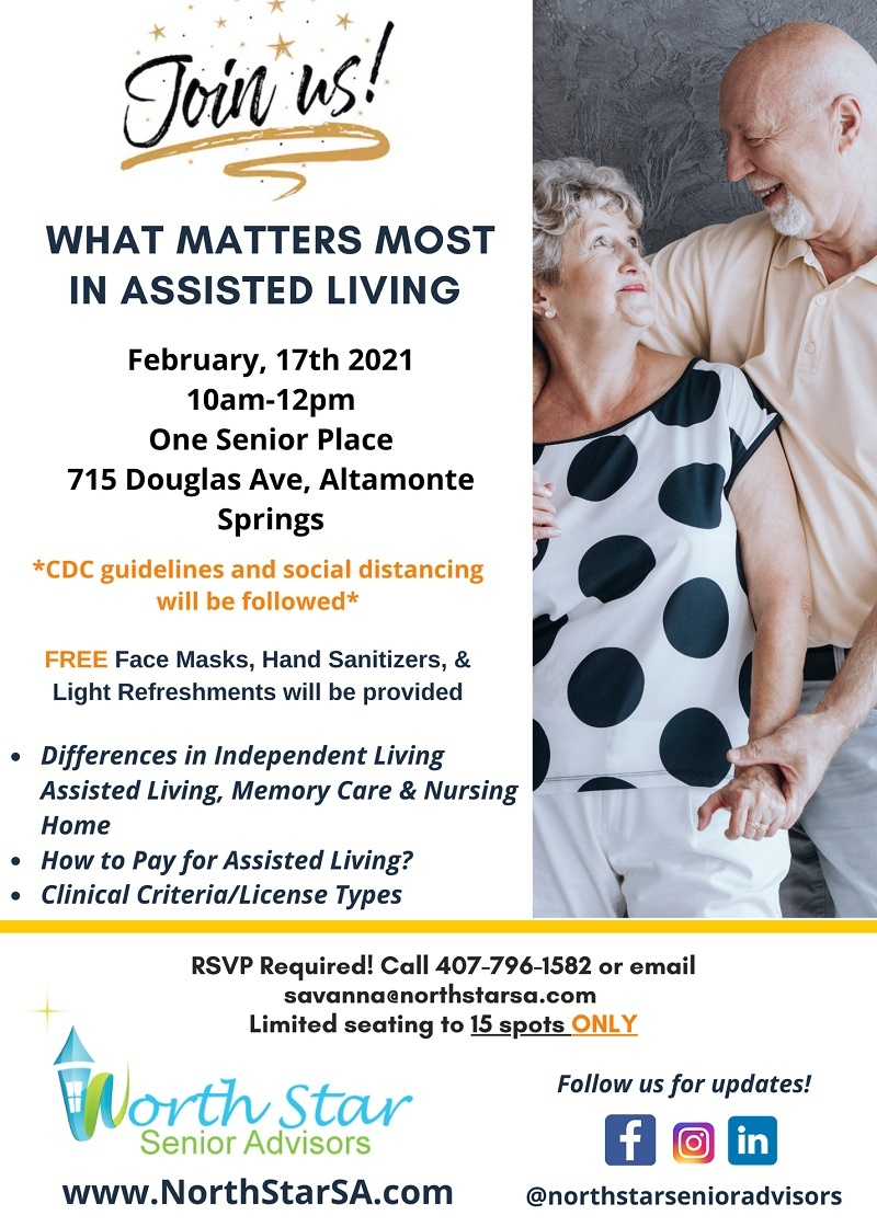 What Matters Most In Assisted Living