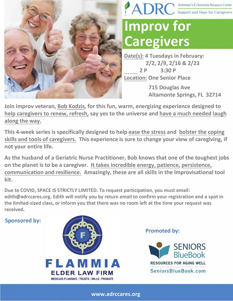IN-PERSON: Improv for Caregivers