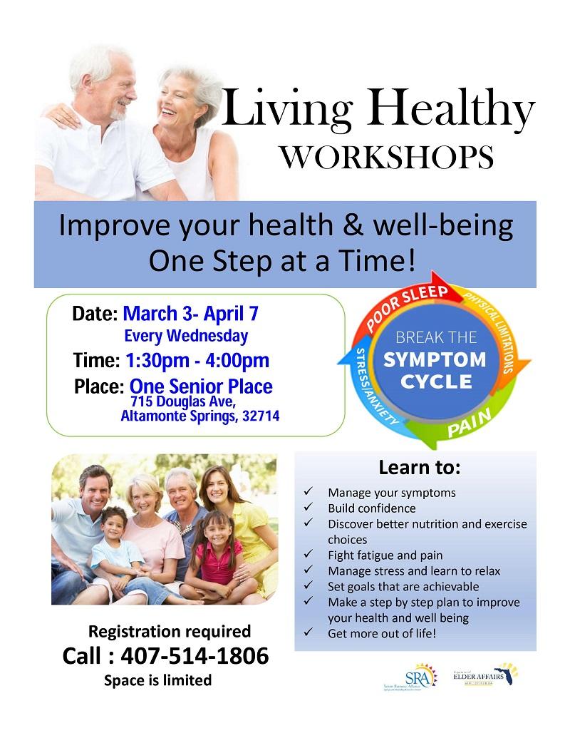 IN-PERSON: Living Healthy 6-Week Workshop