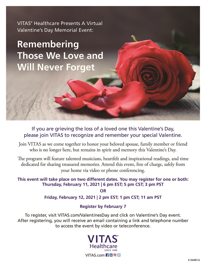 VIRTUAL-Remembering Those We Love and Will Never Forget