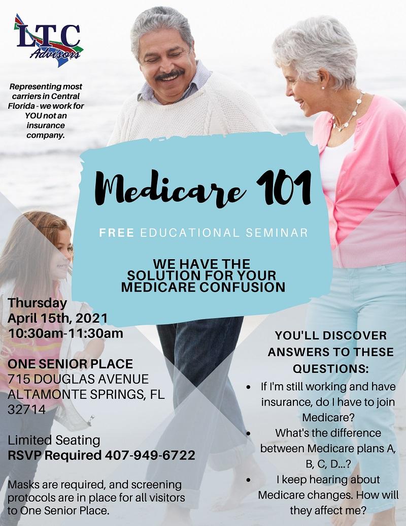 IN PERSON: Medicare 101