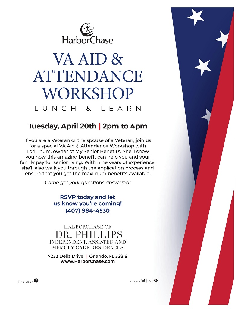 VA Aid & Attendance Workshop Lunch & Learn