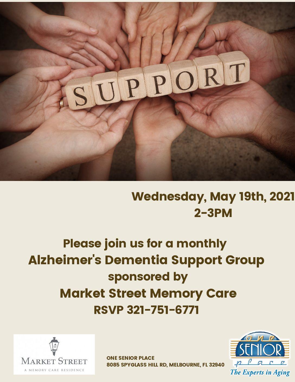 Alzheimer's / Dementia Support Group, Market Street Memory Care