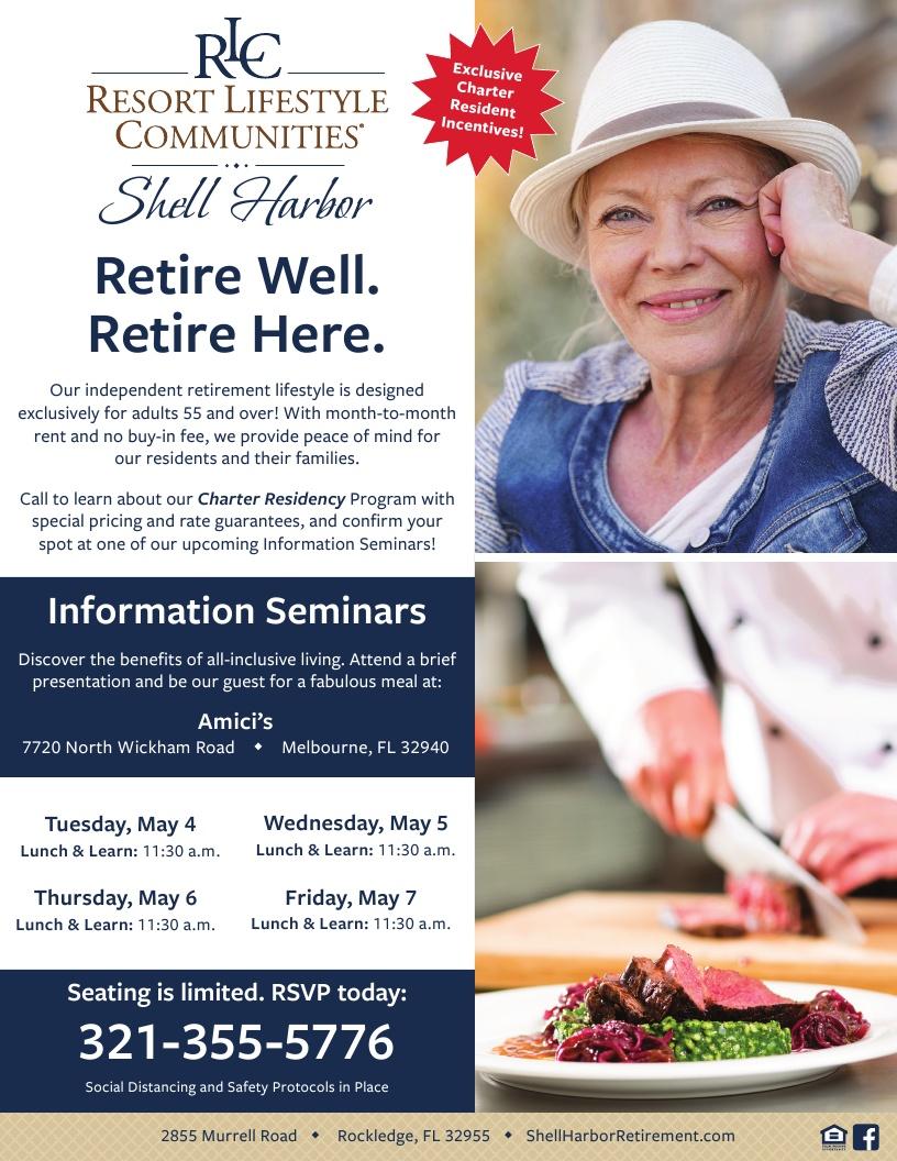 Shell Harbor Resort Lifestyle Community - Information Seminar