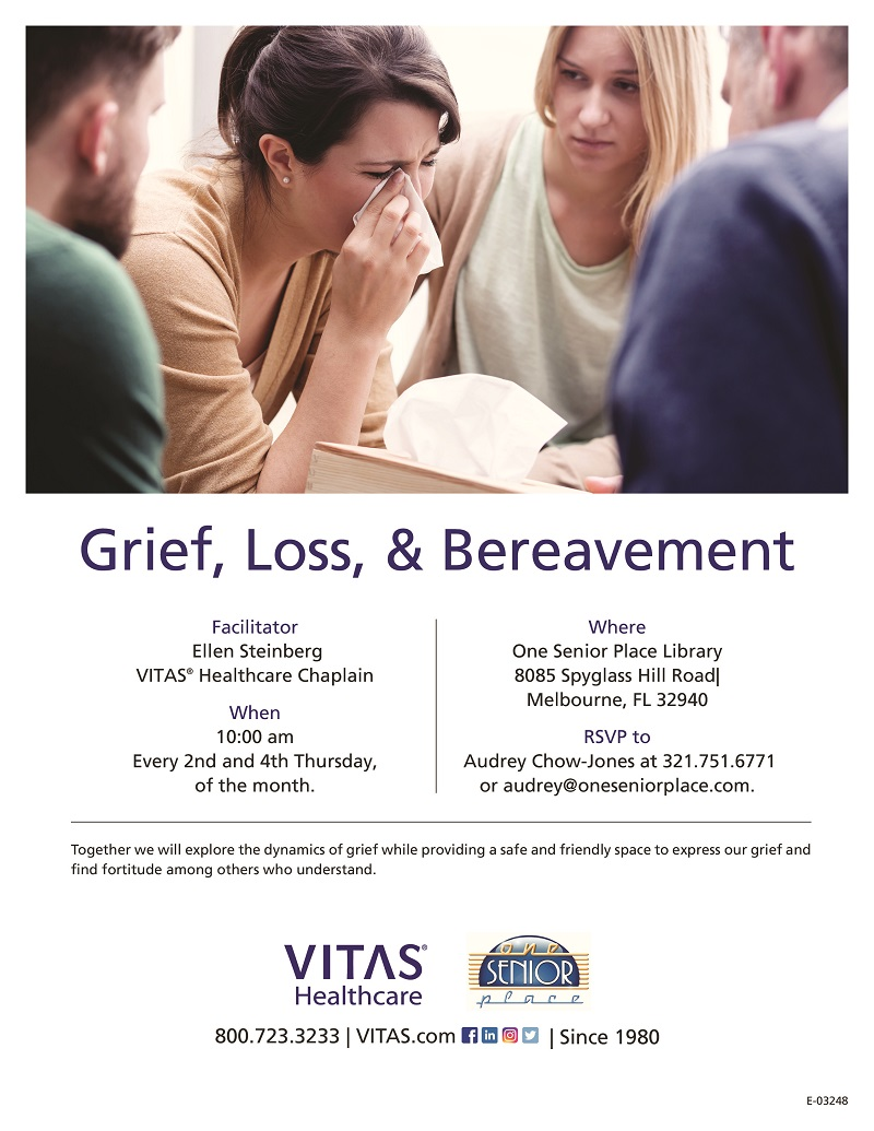 Grief, Loss & Bereavement Support Group hosted by VITAS Healthcare