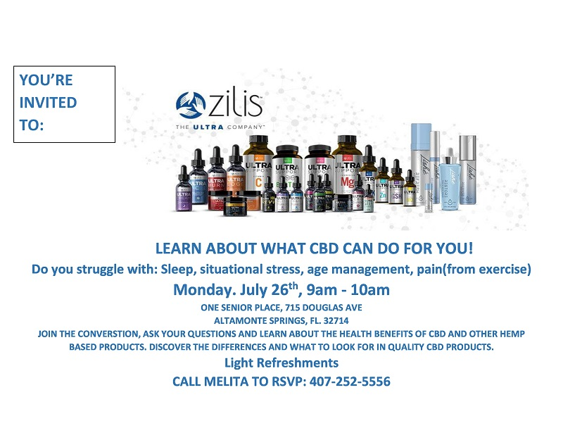 Learn About What CBD Can Do For You!