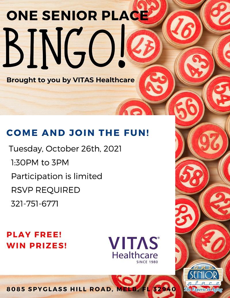 BINGO! brought to you by VITAS Healthcare