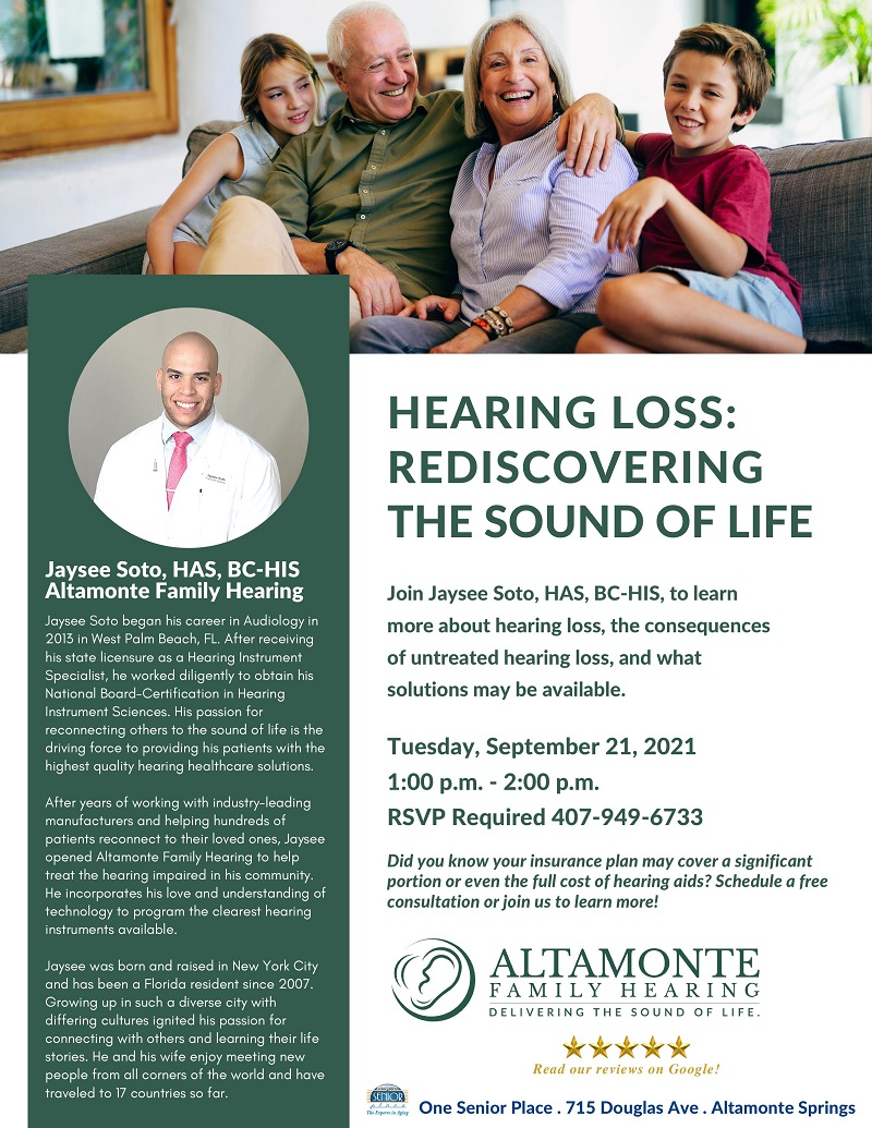 Hearing Loss: Rediscovering The Sound Of Life