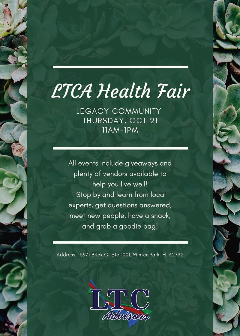 LTCA Health Fair