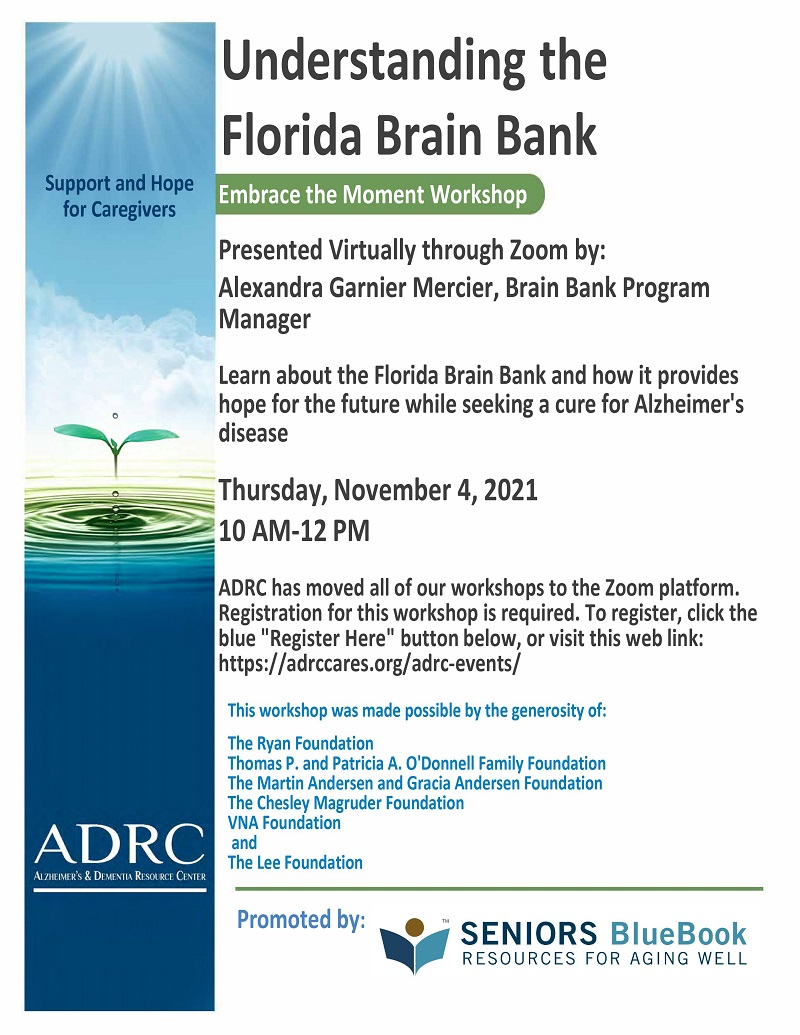 VIRTUAL: Understanding the Florida Brain Bank