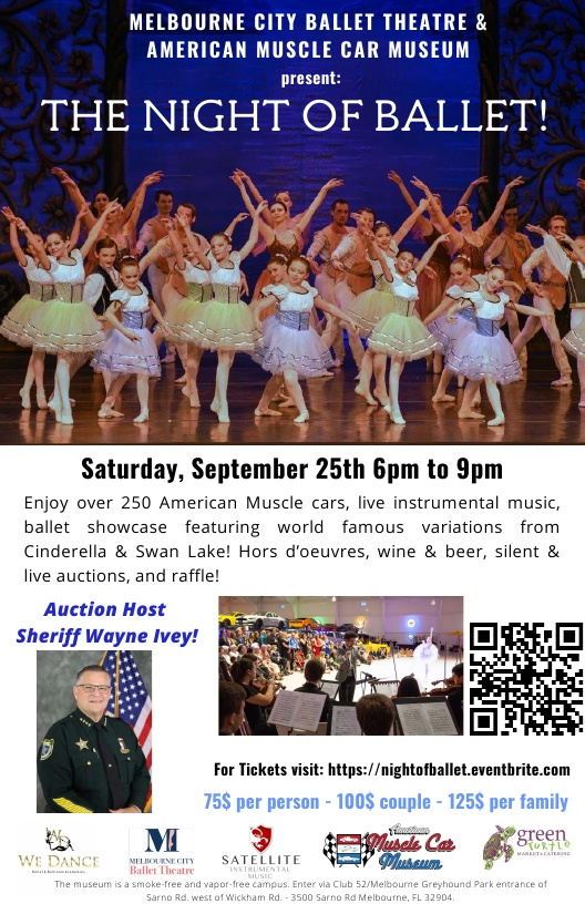 The Night of Ballet presented by Melbourne City Ballet Theatre & American Muscle Car Museum