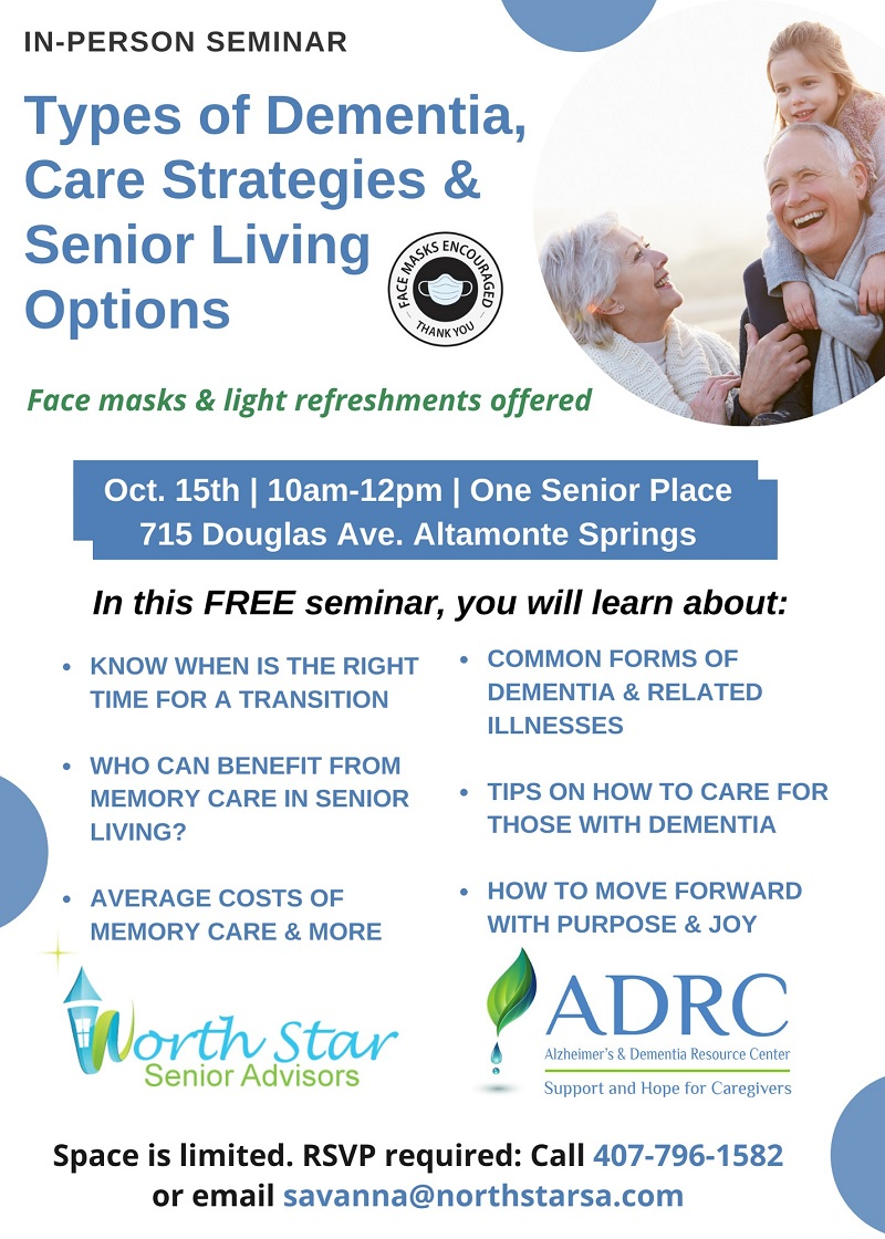 Types of Dementia Care Strategies & Senior Living Options