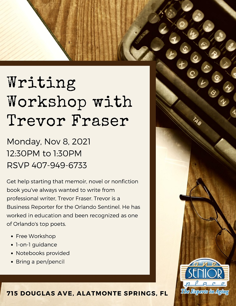 Writing Workshop with Trevor Fraser
