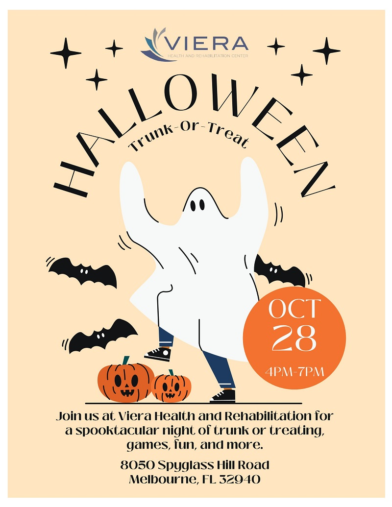 Halloween Trunk-Or-Treat at Viera Health and Rehabilitation